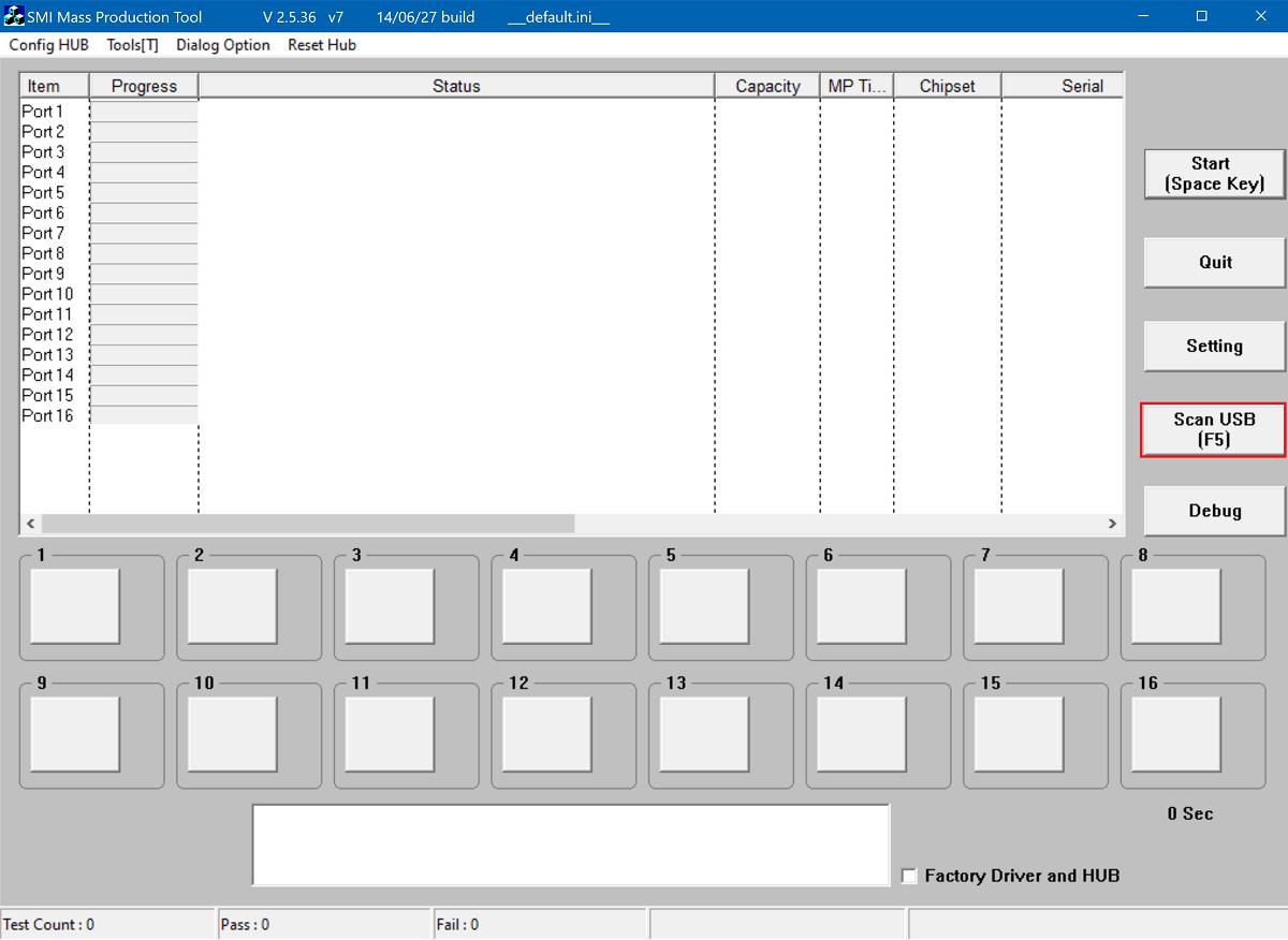 نرم افزار smi mp tool